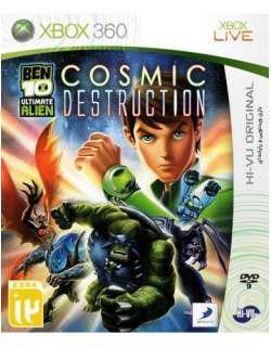 xbox 360 Ben 10 Ultimate Alien Cosmic Destruction