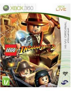 xbox 360 Lego Indiana Jones 2
