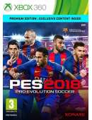 xbox 360 Pro Evolution Soccer 2018