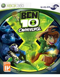 xbox 360 Ben 10 Omniverse