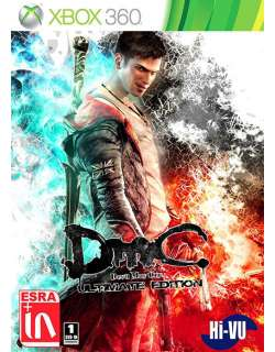 xbox 360 DmC Devil May Cry