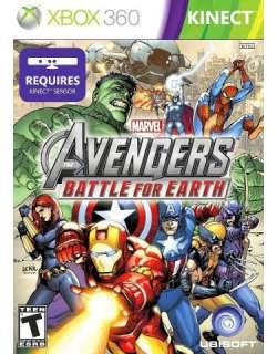 xbox 360 Marvel Avengers Battle for Earth