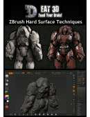 Eat3D - ZBrush Hard Surface Techniques