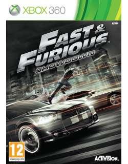 xbox 360 Fast And Furious Showdown