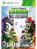 xbox 360 Plants vs Zombies Garden Warfare