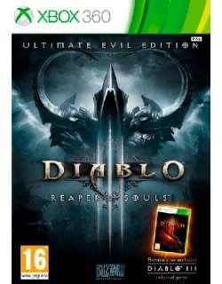 xbox 360 Diablo III Reaper of Souls Ultimate Evil Edition