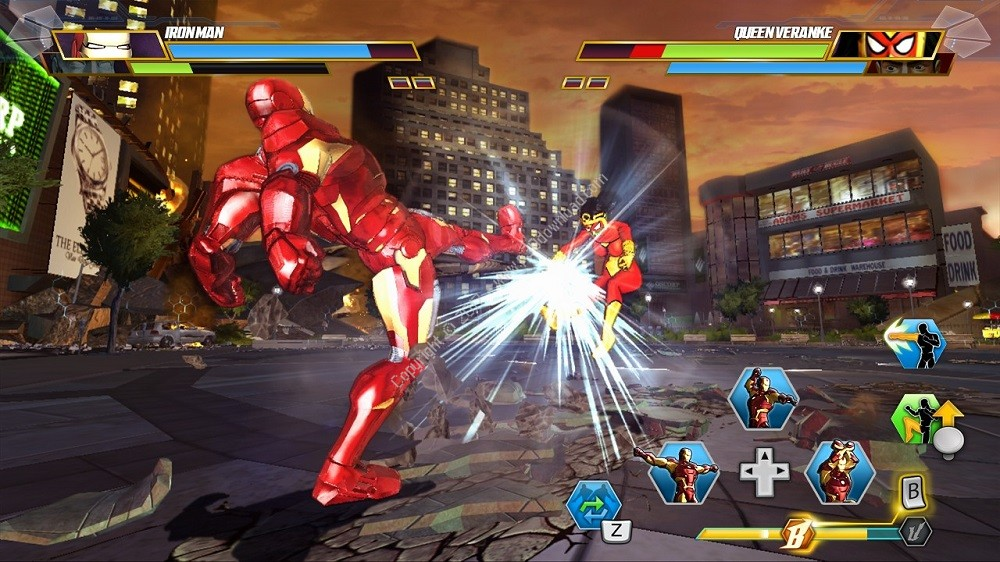 xbox 360 Marvel Avengers Battle for Earth