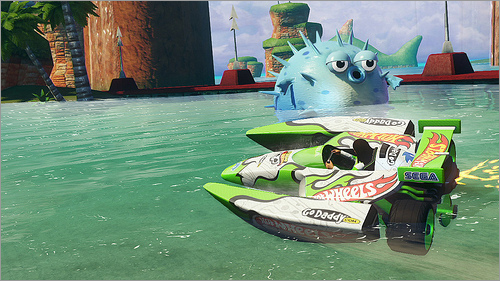 xbox 360 Sonic And Sega All Stars Racing Transformed