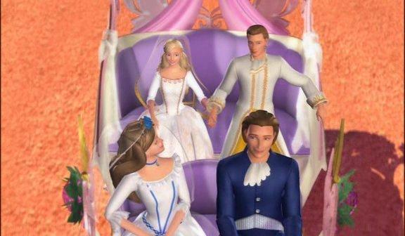بازی باربی شاهزاده و گدا